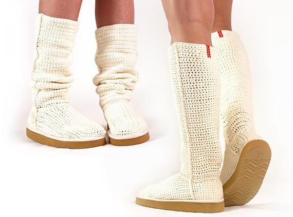 Будь модной! Летняя обувь крючком